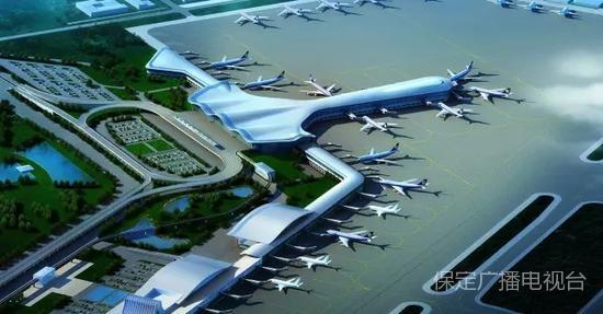 保定要建新的飞机场 快来看有没有你家乡