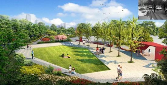 53404平方米!保定8個街心公園5月底完工!